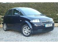 2002 Audi A2 1.4 SE - Lots of History - GWO - only 83K - NEW MOT