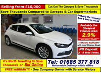 2013 - 63 - VOLKSWAGEN SCIROCCO BLUEMOTION TECH 2.0TDI 2 DOOR COUPE GUIDE PRICE