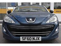 GOOD CREDIT CAR FINANCE AVAILABLE 2010 60 PEUGEOT RCZ 1.6THP 156 SPORT