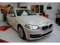 BMW 520D SE Auto Saloon in Pearl White+ Heated Tan Leathers