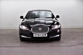 2014 Jaguar XF D LUXURY Diesel black Automatic