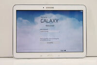 """Used Samsung Galaxy Tab 4 SM-T530 10.1"""" 16 GB Android Table Whit"""