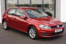 2014 Volkswagen Golf 1.6 TDI SE Hatchback 5dr (start/stop)