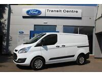 NEW Ford Transit Custom 2.0TDCi 130PS 270 L1H1 Trend in White + LED - Onsite