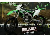 2017 KAWASAKI KXF 450 MOTOCROSS BIKE RENTHAL BARS, NEW REAR TYRE