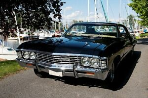 1967 Chevrolet Impala chauffeured rental for all occasions