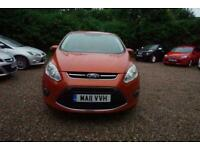 2011 Ford Grand C-Max 1.6 TDCi Zetec 5dr - CAR IS £4699 - £150 PER MONTH MPV Die