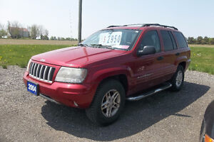 2004 Jeep Grand Cherokee Laredo 4WD- 6 Cylinder/4.0L. ONLY $2950