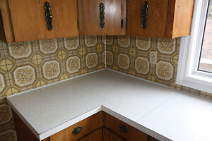 Large set of kitchen cupboards