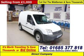 2007 - 07 - FORD TRANSIT CONNECT T230 1.8TDCI 90PS LWB VAN (GUIDE PRICE)