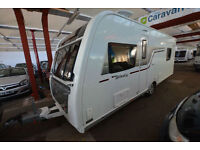 2016 Elddis Affinity 550 4 Berth Touring Caravan with Fixed Island Bed