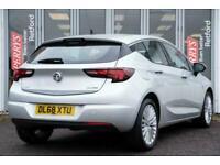 2019 Vauxhall Astra 1.0T ecoTEC Elite Nav 5dr Hatchback Hatchback Petrol Manual