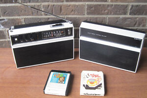 Vintage Portable Craig 3403 Stereo 8 track with am/fm (boxed)