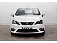 2012 SEAT Ibiza TSI FR DSG Petrol white Semi Auto