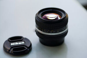 Nikkor 50mm 1.4 Ai-S