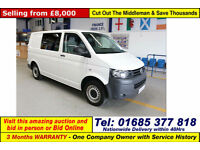 2011 - 11 - VOLKSWAGEN (VW) TRANSPORTER T28 2.0TDI 84PS SWB VAN (GUIDE PRICE)