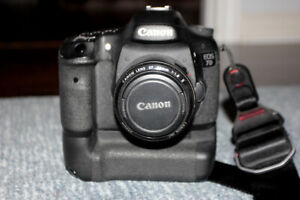 Canon 7D with twin pack grip.