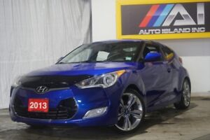 2013 Hyundai Veloster 3dr Cpe,Navi,Camera,Bluetooth,Pano Sunroof