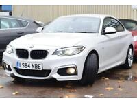 2014 BMW 2 Series 2.0 220d M Sport Auto 2dr (start/stop)