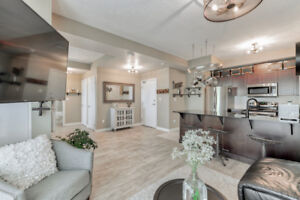 Absolutely beautiful one bedroom lower penthouse unit