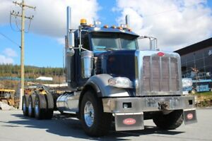 2014 Peterbilt 367 Tri-Drive, Ext Daycab, 18 Spd, Fully Loaded