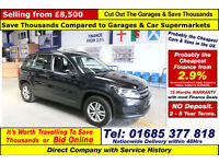 2013 - 62 - VOLKSWAGEN TIGUAN S 2.0 TDI BLUEMOTION 4 MOTION 4X4 (GUIDE PRICE)