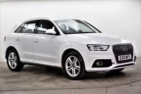 2013 Audi Q3 TDI QUATTRO S LINE Diesel white Semi Auto