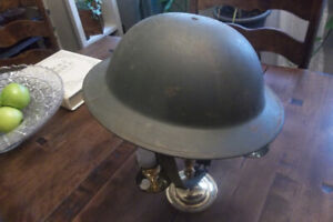 WWII WW2 Brodie  Helmet all original in exceptional shape.