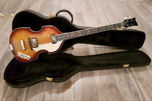 Hofner bass  Hct 500/1   Beatles Paul McCartney