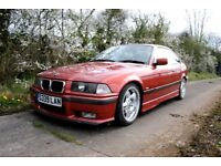 1998 BMW 318is E36 Manual Coupe Lowered Motorsports Stainless Exhaust Low Mileage