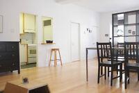 Loft (grand 3 1/2) meublé - Plateau Mont-Royal- Déjà disponible