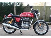 ROYAL ENFIELD 535 CC GT CONTINENTAL EURO 4 ABS CONTINENTAL GT RED