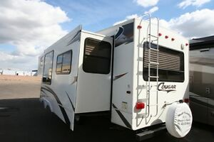 2007 COUGAR 291 RLS FIFTH WHEEL