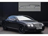 Bentley Continental GT W12 Coupe * Diamond Black + Portland Hide + 20inch Wheels