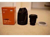 Carl Zeiss 16-35mm f4 Sony Emount