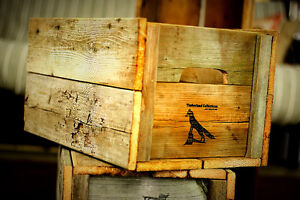 Caisses rustiques en bois