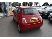 2014 Fiat 500 1.2 Pop (s/s) 3dr Petrol red Manual