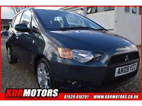 2009 Mitsubishi Colt 1.3 Cz2 PETROL AUTOMATIC ONLY 69K F/S/H LOW ROAD TAX