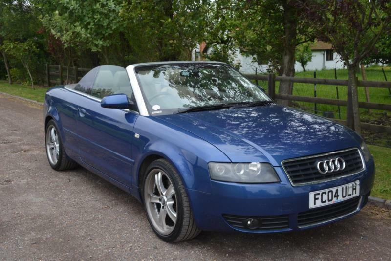 audi a4 cabriolet 1 8t 2004 sport low mileage in wokingham berkshire gumtree. Black Bedroom Furniture Sets. Home Design Ideas