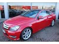 Mercedes C250 CDI AMG SPORT EDITION PREMIUM PLUS. VAT QUALIFYING