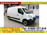 2011 - 11 - VAUXHALL MOVANO F3500 L2H2 EURO5 2.3CDTI 100PS MWB VAN (GUIDE PRICE)