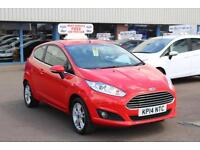 Ford Fiesta 1.25 82PS Zetec in Race Red + A/C - Onsite