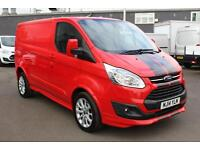 Ford Transit Custom 2.2TDCi 155PS 290 L1H1 Sport in Race Red + Camera - Onsite