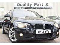 2013 BMW 1 Series 2.0 125d M Sport Sports Hatch 5dr (start/stop)
