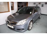 Vauxhall/Opel Vectra ESTATE 1.9CDTi 16v ( 150ps ) ( Nav ) Elite LEATHER