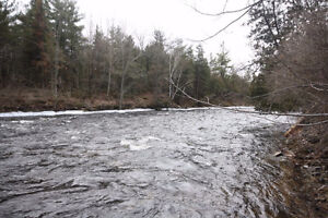 25 Minutes to Kingston,1 acre, 118' on the Napanee river,