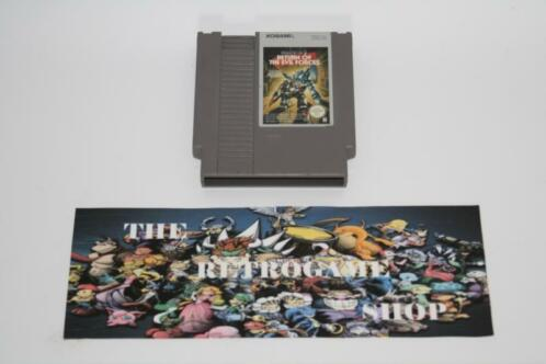 Probotector II Return Of The Evil Forces (Nes Cartridges)