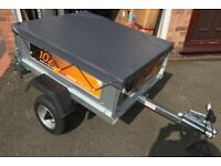 Erde 102 Tipping, Camping Trailer with Cover **Brans New**