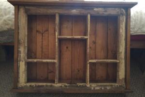 Restored Window Frame Shelf