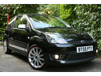 Ford ** FIESTA ST ** 2.0 Black 2005 55 Mk6 New Shape